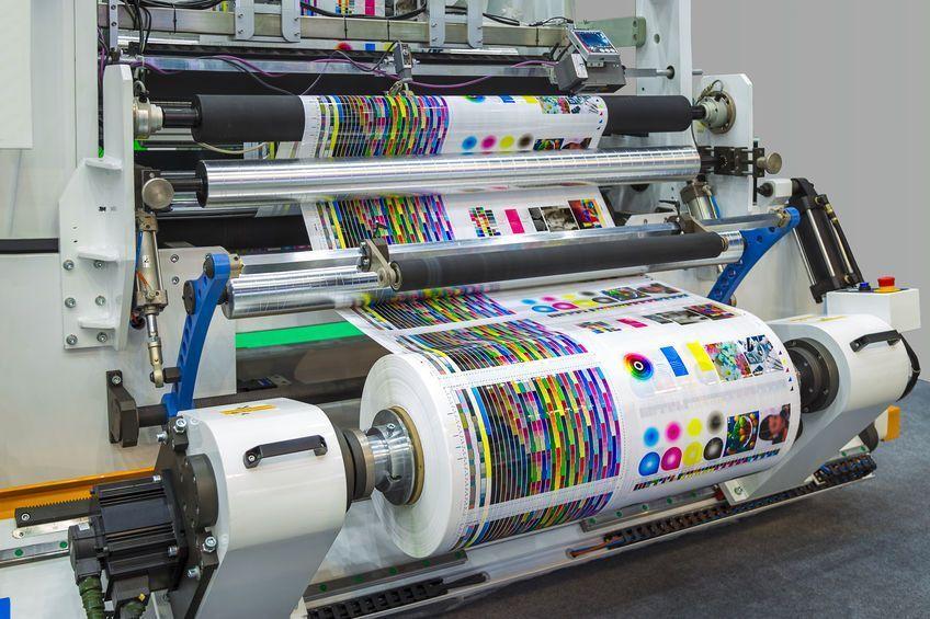 Printing plastics