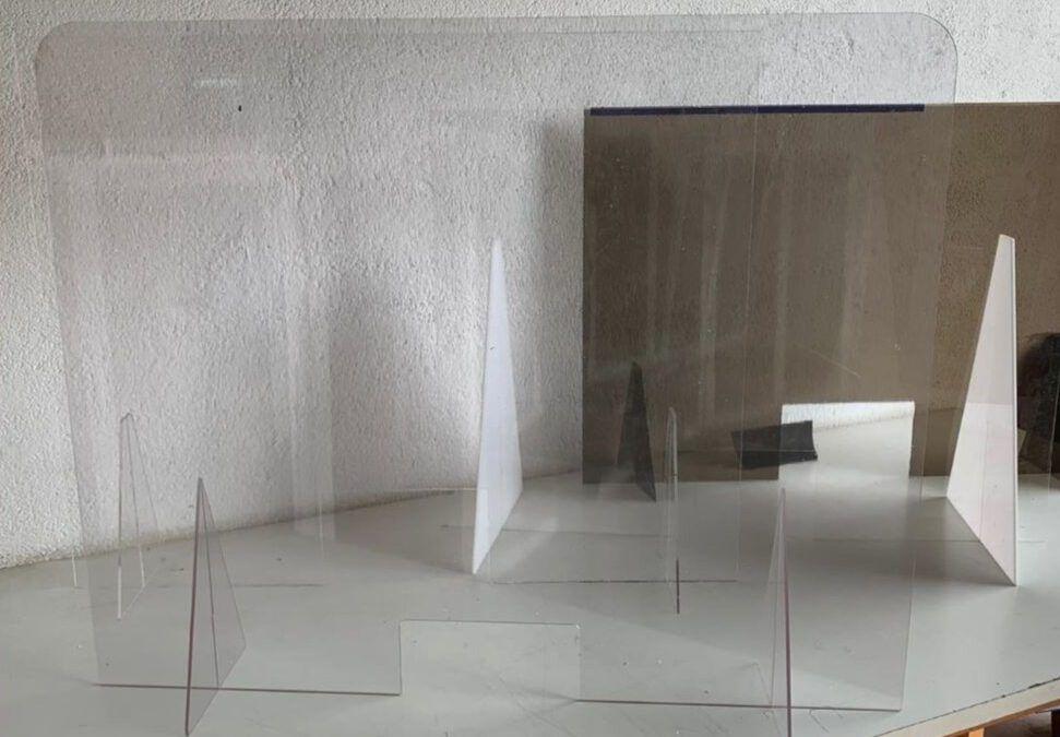 Lámina altamente transparente para la fabricación de productos de protección frente al Covid-19